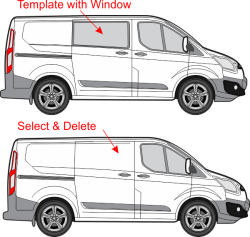 vehicle template tips modify using your software vehicle