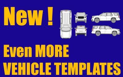 New Honda Vehicle Templates