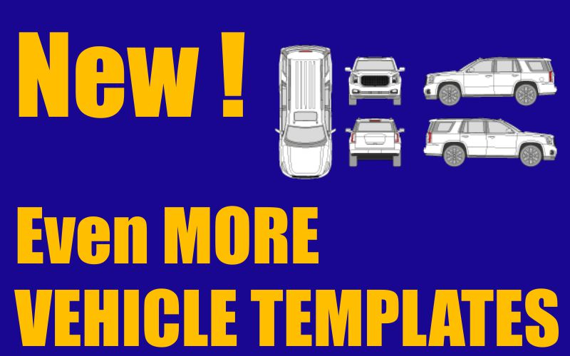 More Vehicle Templates