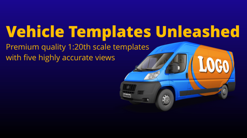Premium Quality Vehicle Templates