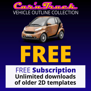 Free Vehicle Templates Subscription
