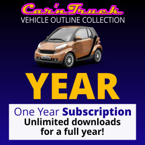 One Year Vehicle Templates Subscription