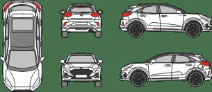FORD Puma 2019 vehicle template
