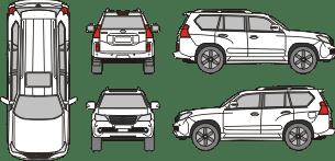 LEXUS GS 2010 Vehicle Template