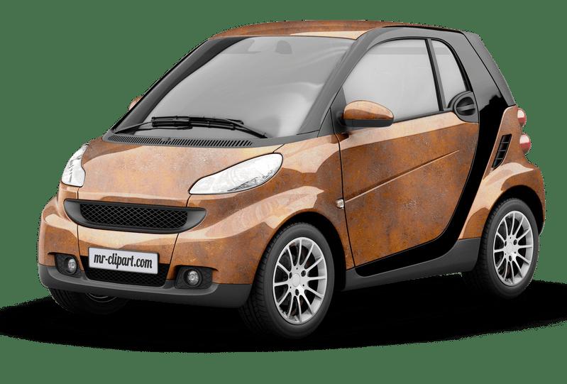 3D Smart Car Vehicle Wrap Rendering