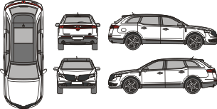 LINCOLN MKT 2019 Vehicle Template