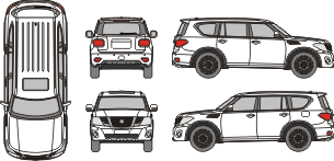 NISSAN Patrol Y62 2020 vehicle template