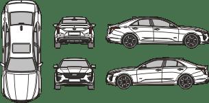 CADILLAC CT4 V 2021 Vehicle Template