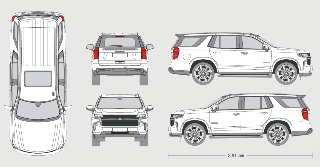 CHEVROLET Tahoe RST 2020 Vehicle Template