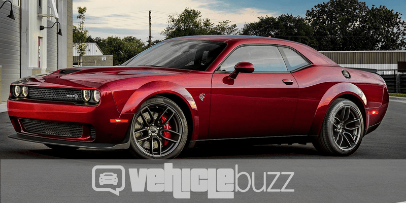 2018 dodge lineup. contemporary dodge sideview of red 2018 dodge challenger srt hellcat widebody on dodge lineup