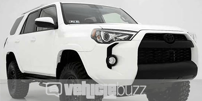 photo of 3/4 view 2018 White Toyota 4runner
