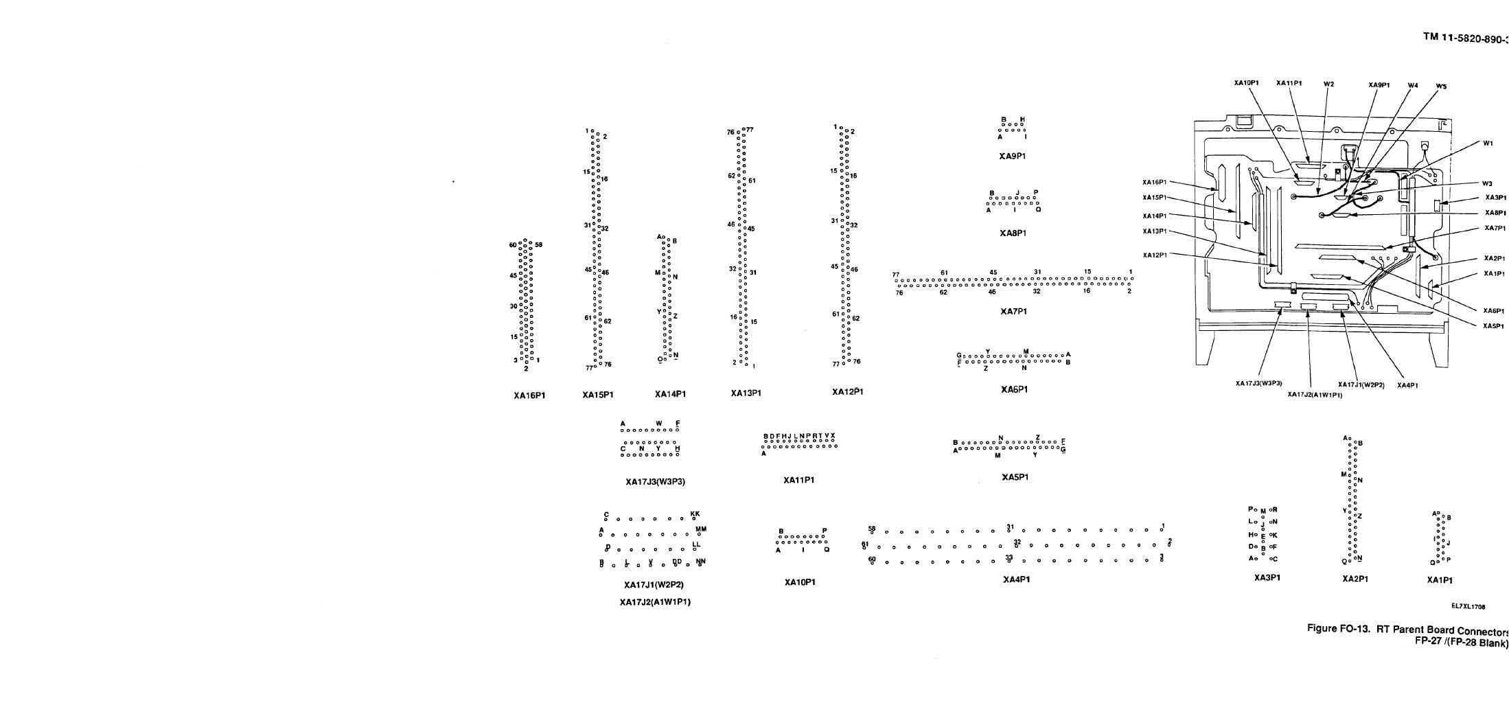 Figure Fo 13 Rt Parent Board Connectors