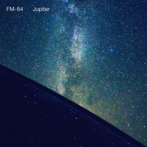 """Cover art for FM-84's """"Jupiter"""" single. Photo Credit: Col Bennett."""