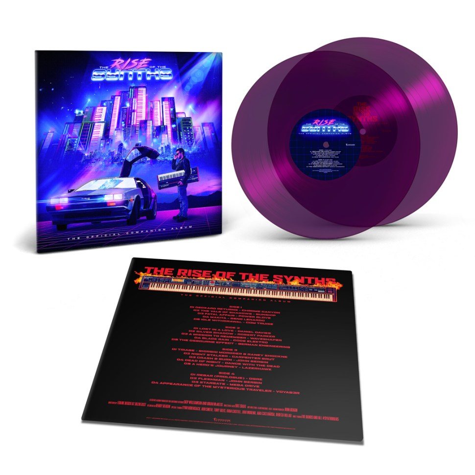 the rise of the synths vinyl set