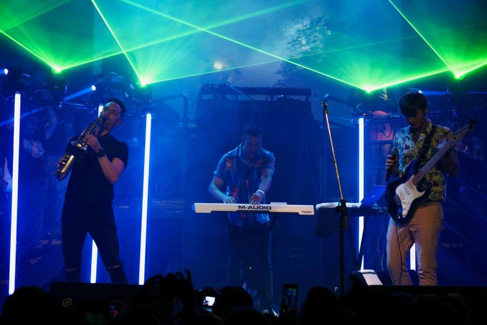 The Midnight perform live on July 14 at the DNA Lounge in San Francisco, California.