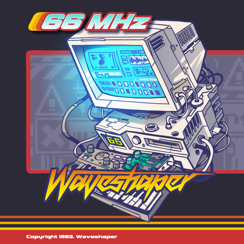 66mhz waveshaper