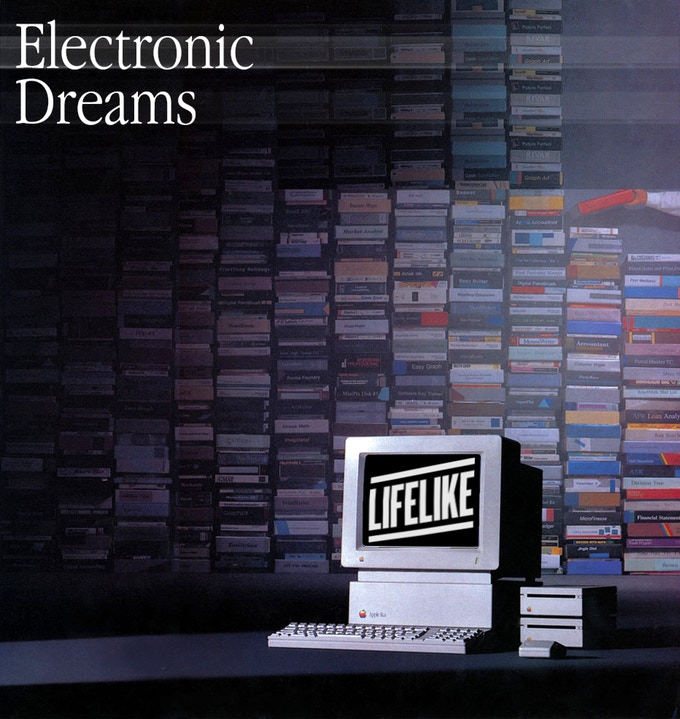 Cover art for 'Electronic Dreams.'