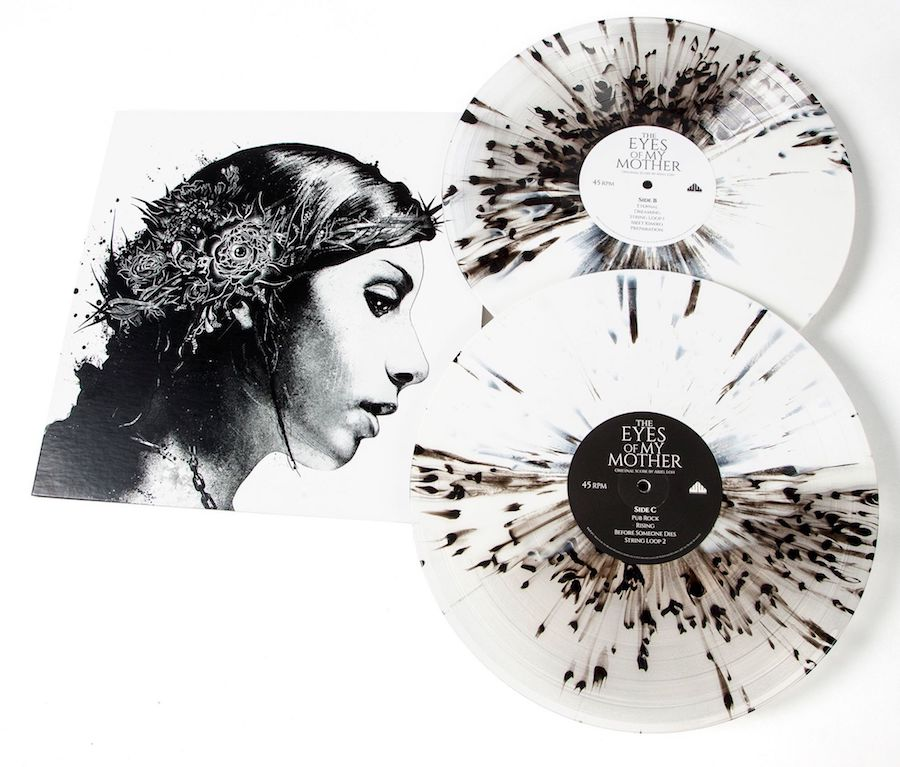 The Eyes of My Mother vinyl splatter