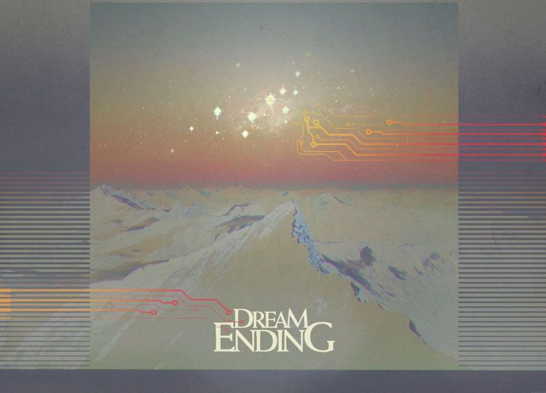 Cover art for Dream Ending's self-titled debut by Signalstarr.