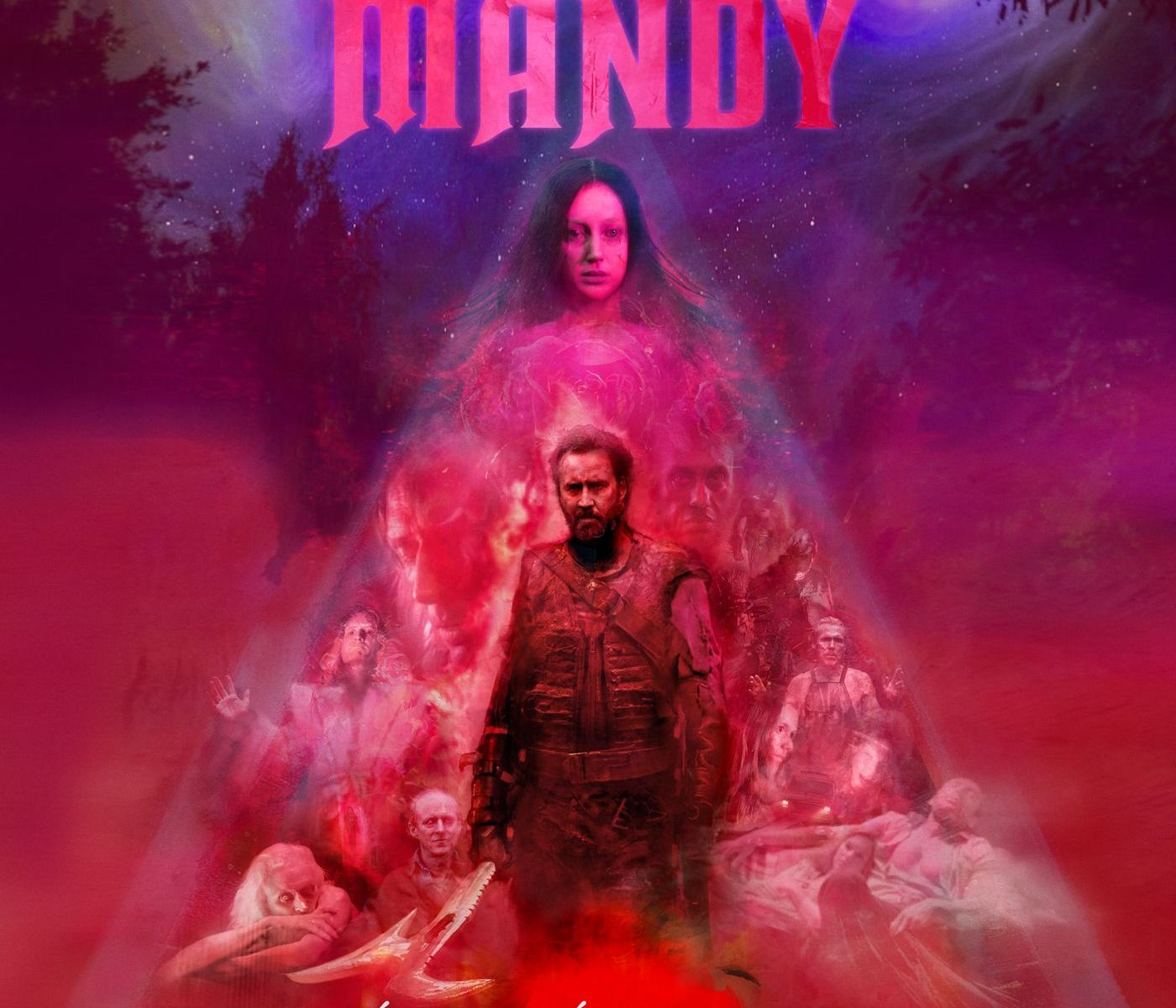 Mandy soundtrack Johan Johansson