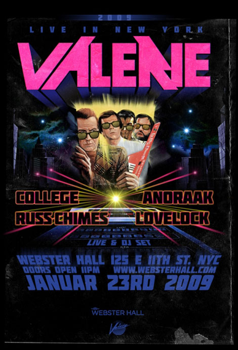 valerie collective webster hall nyc 2009