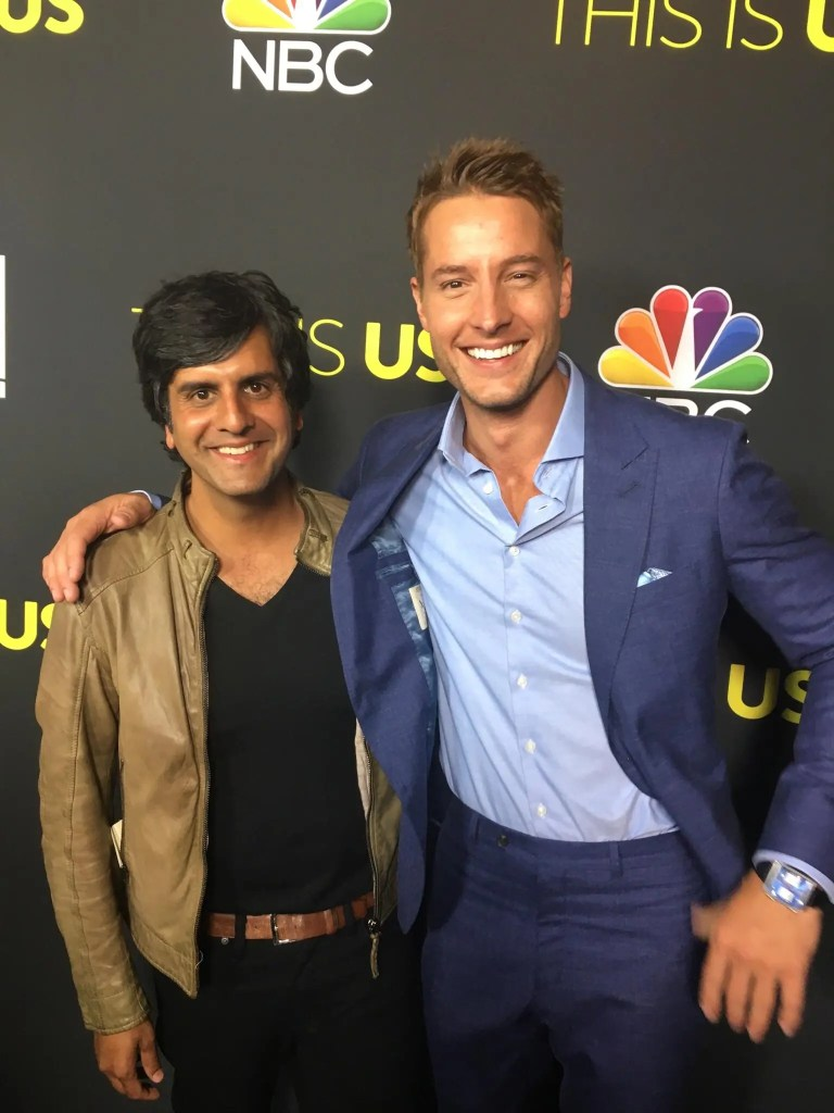 Composer Siddhartha Khosla and Actor Justin Hartley