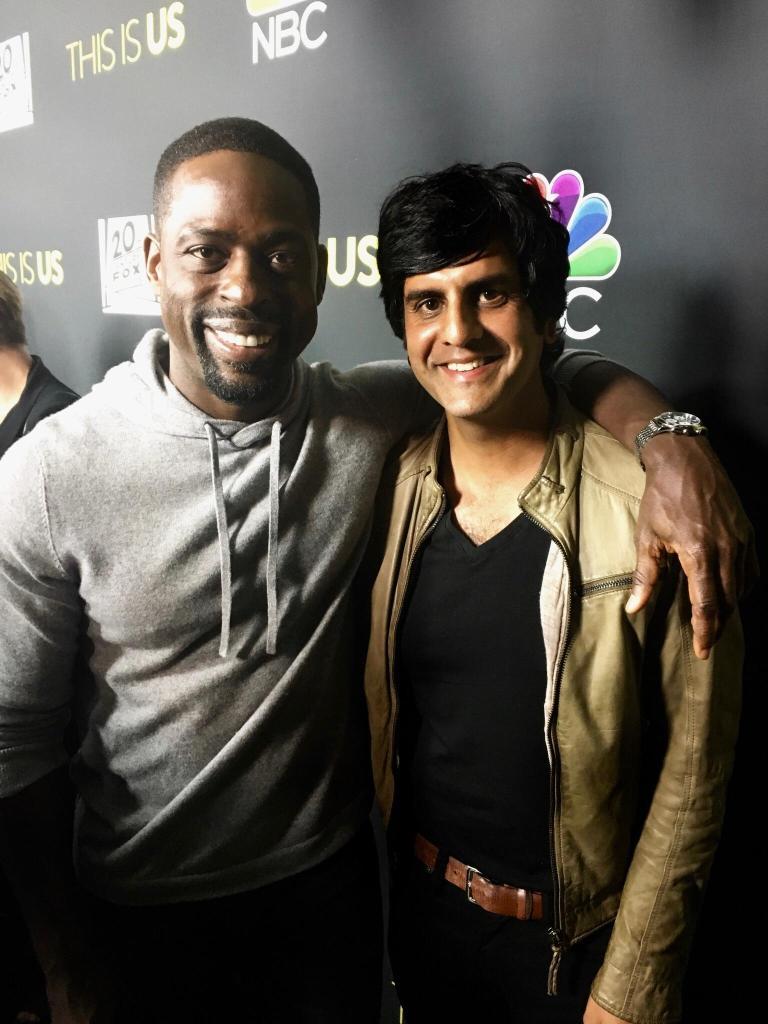 Composer Siddhartha Khosla and Actor Sterling K. Brown