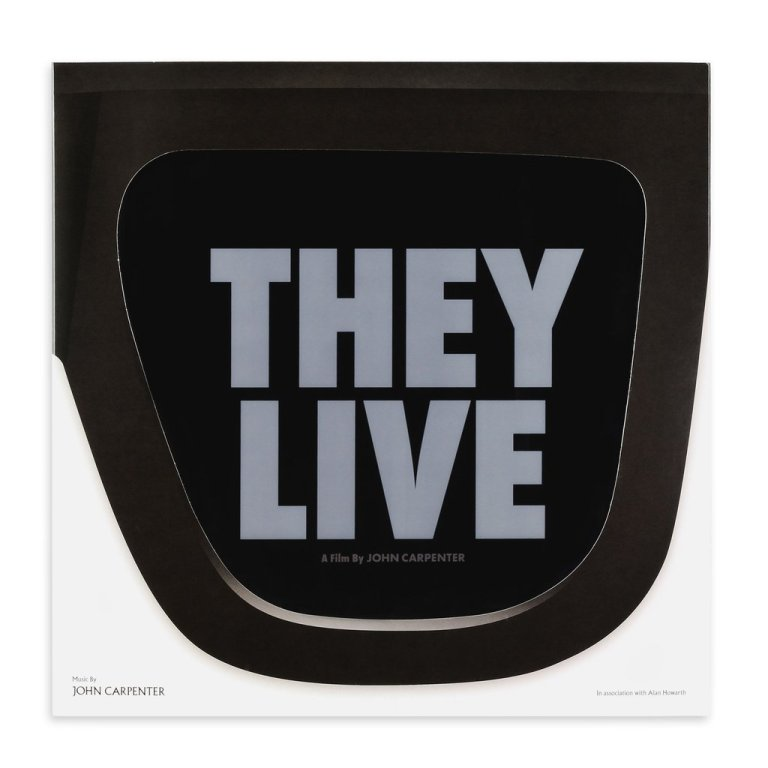The packaging for the MONDO/Death Waltz release of Carpenter's 'They Live' is fantastic.