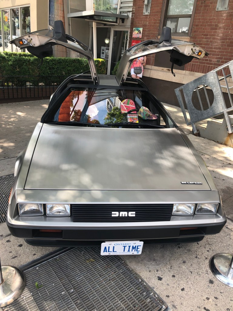 delorean at outland toronto