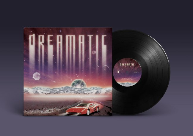 fm attack dreamatic vinyl cover