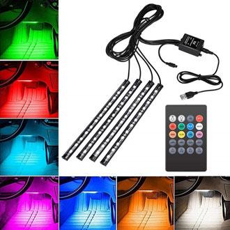 Come scegliere le strisce LED per auto
