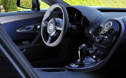 super carros interior bugatti veyron supersport
