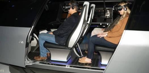 interior urban air taxi