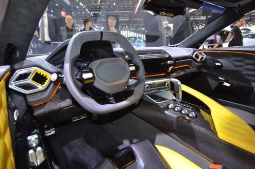 super carros interior Zenvo TS1 GT