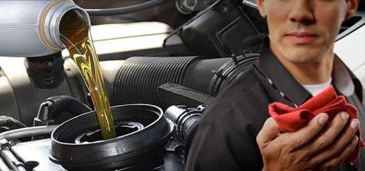 troca de óleo do carro