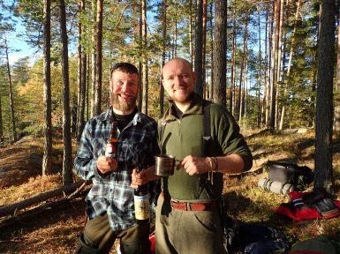 Godt selskap :) Fotograf: Marius Strøm