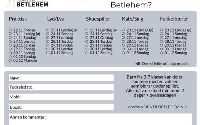 Info om påmelding medarbeidere VTB