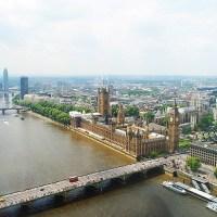 Lomalla Lontoossa ja persoonallisia rakennuksia