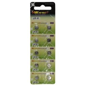 LR41 Knoopcel batterijen