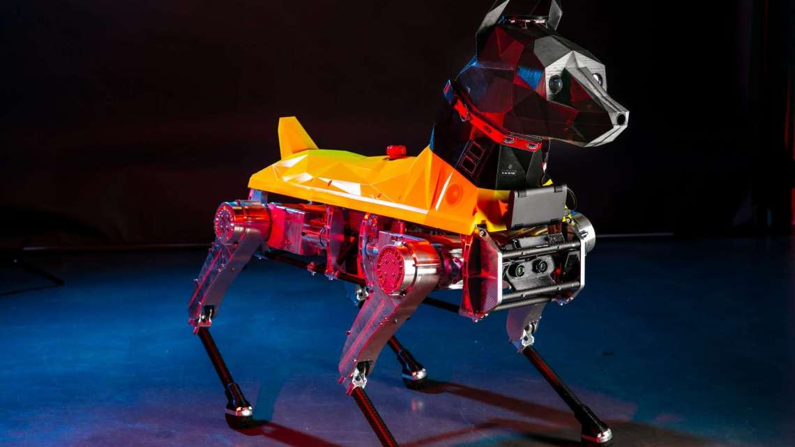 Astro, le robot à quatre pattes qui se comporte comme un vrai chien – Futura-Sciences