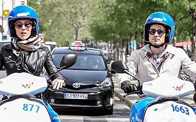 Les services des scooters électriques en libre accès – Ville de Paris