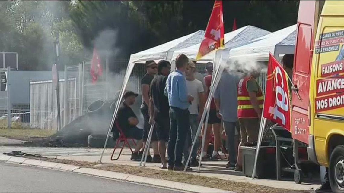 La Rochelle : dixième jour de grève chez Innov'ia – France 3 Régions