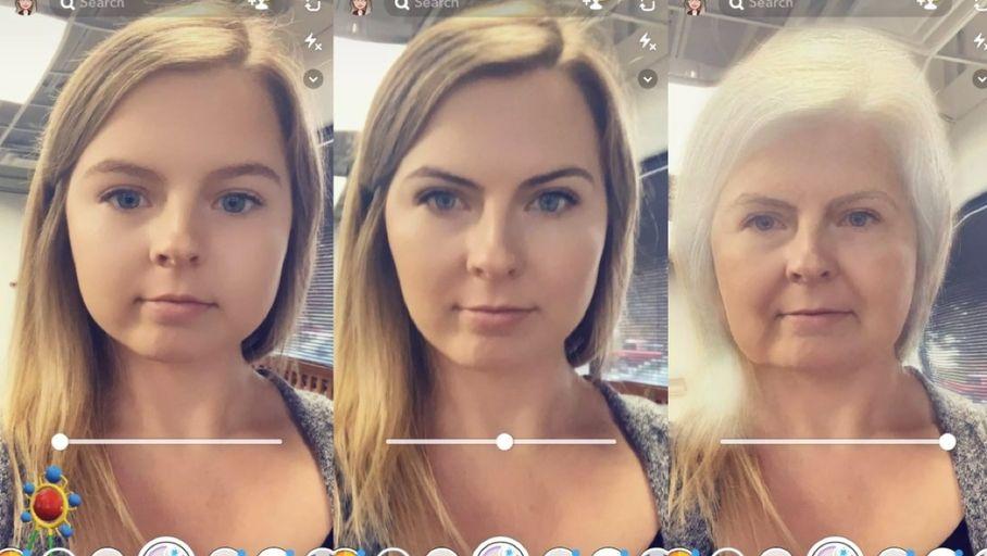 Snapchat s'inspire de FaceApp avec son nouveau filtre Time Machine – Les Numériques