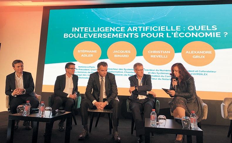 Les notaires face aux bouleversements économiques de l'IA : des acteurs « absolument essentiels » – Affiches Parisiennes
