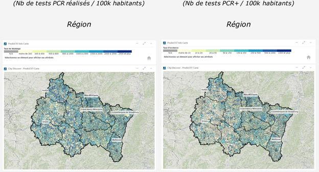 En Grand Est et Auvergne, un outil d'intelligence artificielle modélise l'évolution du Covid à l'échelle territoriale – L'Usine Nouvelle