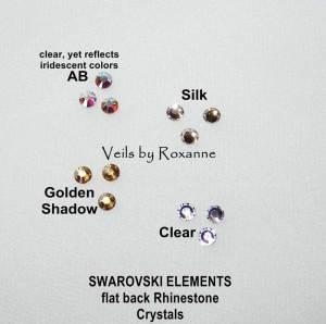 Swarovski Elements crystals