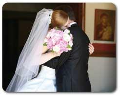Oval Shape Wedding Veil