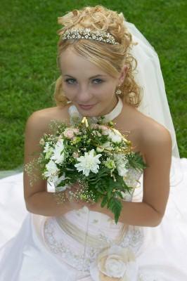 Short veils are Shoulder Veils