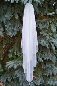 Waterfall English netting veils