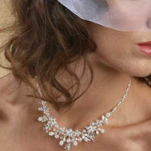 necklace being worn S005